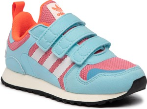 Buty sportowe dziecięce Adidas dla dziewczynek na rzepy