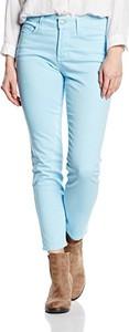 Miętowe jeansy amazon.de w street stylu