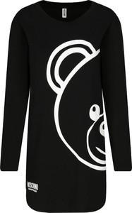 Bluzka Moschino z okrągłym dekoltem z długim rękawem