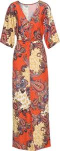 Bonprix bodyflirt boutique sukienka z nadrukiem