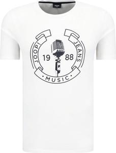 T-shirt Joop! w młodzieżowym stylu z krótkim rękawem