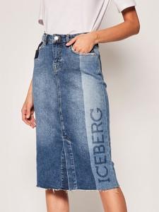 Spódnica Iceberg w stylu casual z jeansu