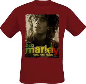 T-shirt Emp z bawełny z nadrukiem