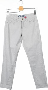 Spodnie 19.70 Nineteen Seventy w stylu klasycznym