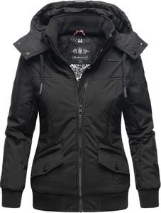 Czarna kurtka Marikoo w stylu casual
