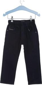 Born2be granatowe spodnie good basic