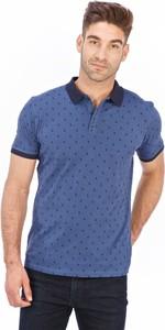 Koszulka polo Lanieri Fashion z nadrukiem