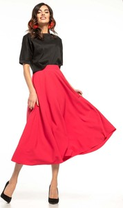 Czerwona spódnica Tessita