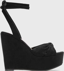 Czarne sandały Kazar Studio ze skóry