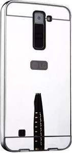 Etuistudio Mirror bumper case na LG K8 - Srebrny.