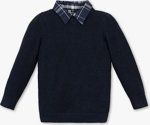 Granatowy sweter Palomino z bawełny