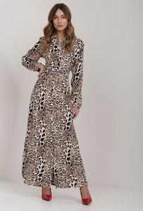 Sukienka Renee z długim rękawem maxi