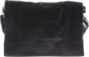 Czarna torba Adax ze skóry