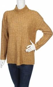 Brązowy sweter Pieces