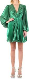 Zielona sukienka ANIYE BY mini z dekoltem w kształcie litery v