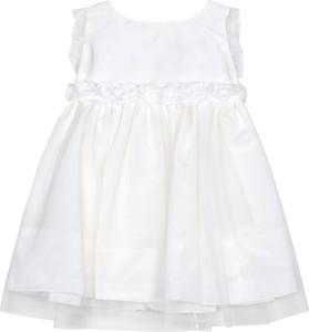 Sukienka dziewczęca Une Hautre Couture z jedwabiu