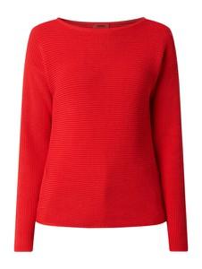 Czerwony sweter Hugo Boss z bawełny w stylu casual