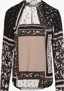 Bluzka Apriori z okrągłym dekoltem z długim rękawem