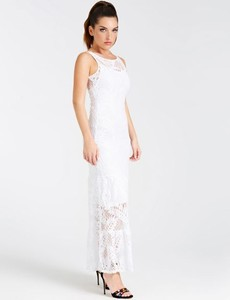 Sukienka Guess maxi dopasowana
