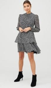 Sukienka Warehouse z dżerseju mini w stylu casual
