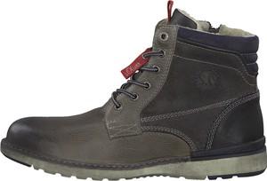 367ea5d390c29 Brązowe buty zimowe S.Oliver w stylu casual