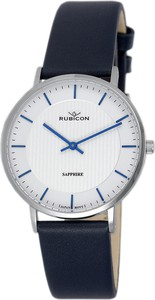 Zegarek damski RUBICON RNAD75 Sapphire Granatowy