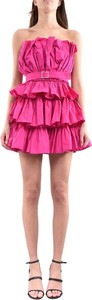 Różowa sukienka ANIYE BY hiszpanka