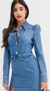 Sukienka Asos z jeansu szmizjerka