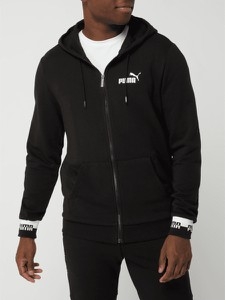 Czarna bluza Puma w młodzieżowym stylu
