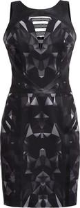 Czarna sukienka Gaberon bez rękawów