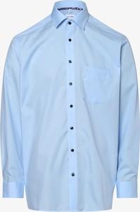 Niebieska koszula Olymp Luxor Comfort Fit z długim rękawem z klasycznym kołnierzykiem