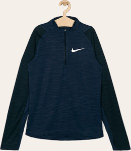 Niebieska koszulka dziecięca Nike Kids z długim rękawem