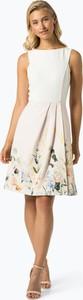 Sukienka Ted Baker mini z okrągłym dekoltem