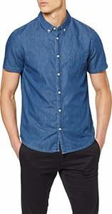 Koszula amazon.de z krótkim rękawem z jeansu