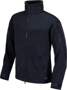 Czarna bluza HELIKON-TEX w sportowym stylu z polaru
