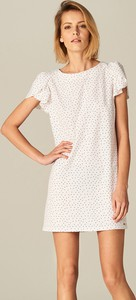 Mohito - sukienka z bufiastymi rękawami - biały