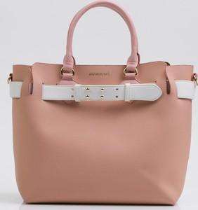 Różowa torebka Monnari