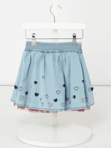 Niebieska spódniczka dziewczęca Review For Kids
