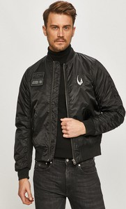 Czarna kurtka Element krótka z bawełny