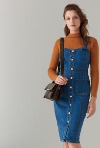 Sukienka Mohito z jeansu