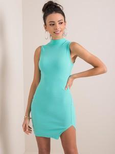 Sukienka Promese dopasowana mini bez rękawów