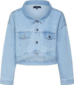Niebieska kurtka Missguided w stylu casual z jeansu