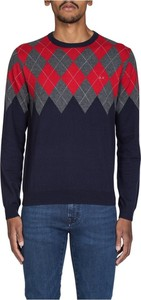 Czerwony sweter Sun 68