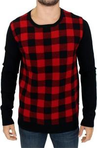 Czerwony sweter Costume National z wełny