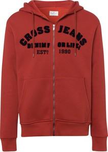 Bluza Cross Jeans w młodzieżowym stylu z bawełny
