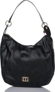 Czarna torebka Monnari matowa w wakacyjnym stylu