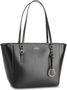 Torebka lauren ralph lauren - bennington 431687508001 medium black