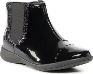 Buty dziecięce zimowe Clarks na zamek