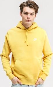 Żółta bluza Nike w stylu casual