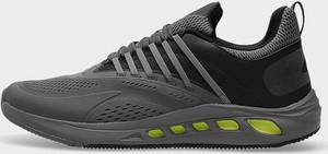 Czarne buty sportowe 4F sznurowane